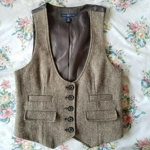 GAP Herringbone the Wool Vest XS